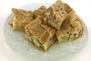 Torta preguiçosa feita com mistura para torta salgada e doce ProCooking
